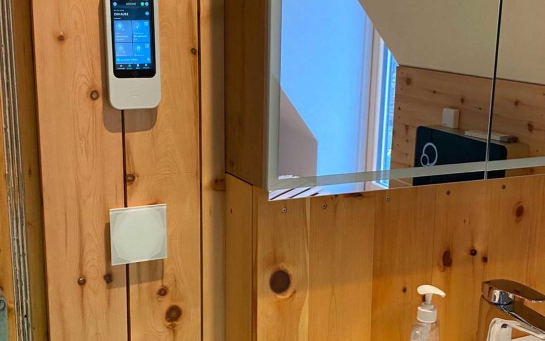 Smart Home neue Wallmount für iPhone Loxone