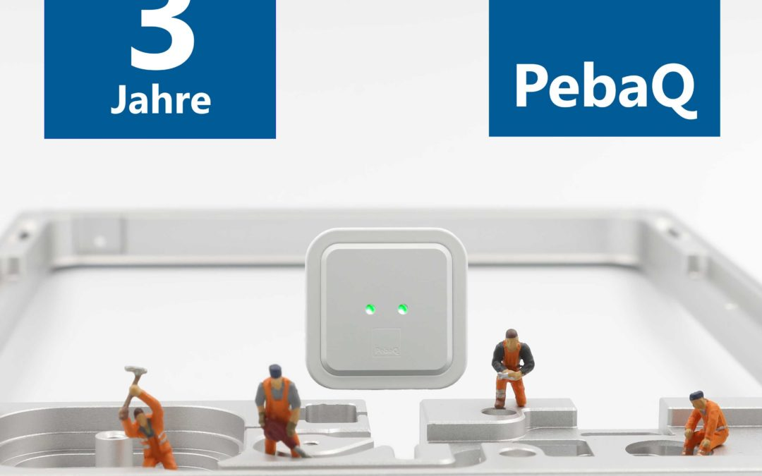 3 Jahre PebaQ GmbH